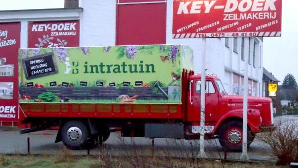 Vrachtwagen- / Aanhangerzeilen