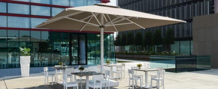 Elektrische parasol